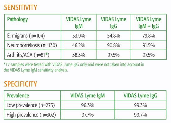 VIDAS® Lyme IgM and VIDAS® Lyme IgG - Clear-cut immune